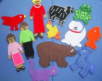 Brown Bear Flannel Board Story Set