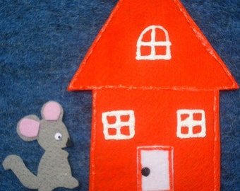 Little Mouse, Little Mouse Flannel Board Felt Story