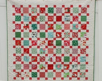PATTERN - Retro Christmas Quilt Pattern