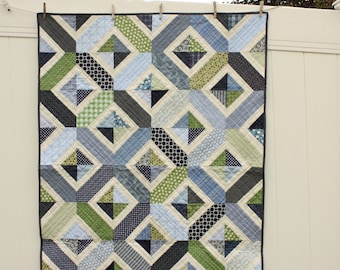 Double Crossed Quilt PATTERN