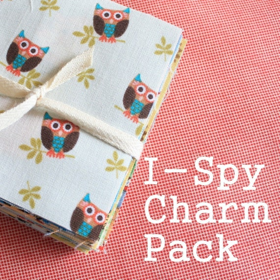 "50 I-spy quilt blocks (3.5"")"