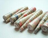World Postcard Paper Beads