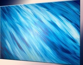 Blue Painting by LaffertyArt  - Original Abstract Art Sale 22% Off