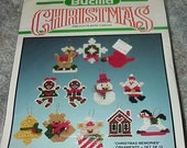 Bucilla Kit--Plastic Canvas--Christmas Memories--ORNAMENTS--Unused