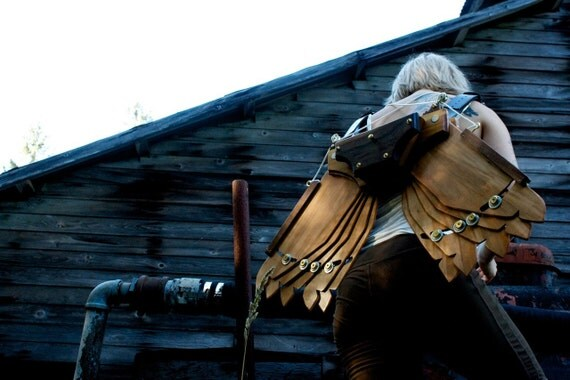 Steampunk Icarus Wings - Custom Built For You & One Of A Kind!! - Burning Man