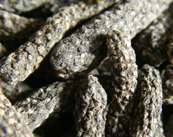 LONG Pepper - Pippali - ORGANIC - Medieval Cuisine, Medicinal, Indian spice - 50g