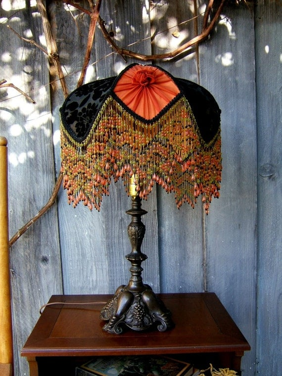 Vintage Victorian 1880's Style Parlor Lamp RESERVED for pecanisdl