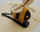 Little Surprises- Bee Hair Clip
