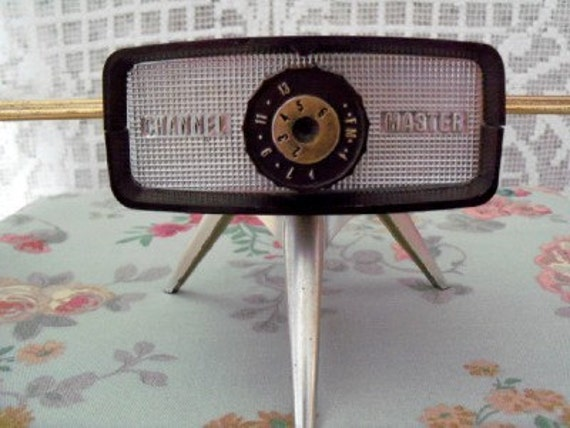 Vintage Channel Master analog TV antenna 1950s