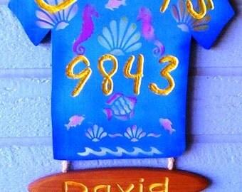 Hawaiian Shirt Sign