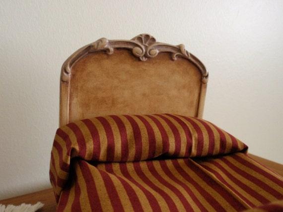 12th scale bed head-board OOAK