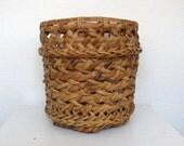 Loose Weave Basket