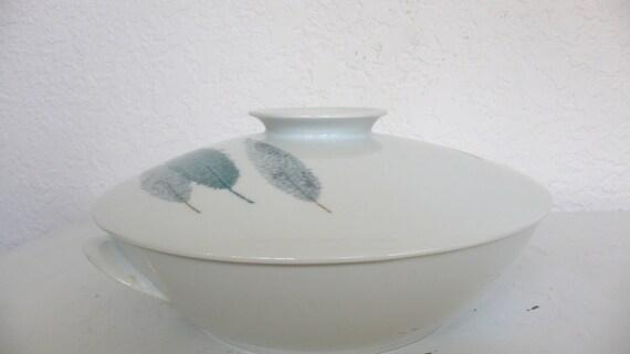 Noritake Namiki Covered Vegetable Bowl