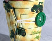 John Deere Tractor Coffee Cozy