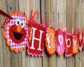 Happy Birthday- Girlie Elmo