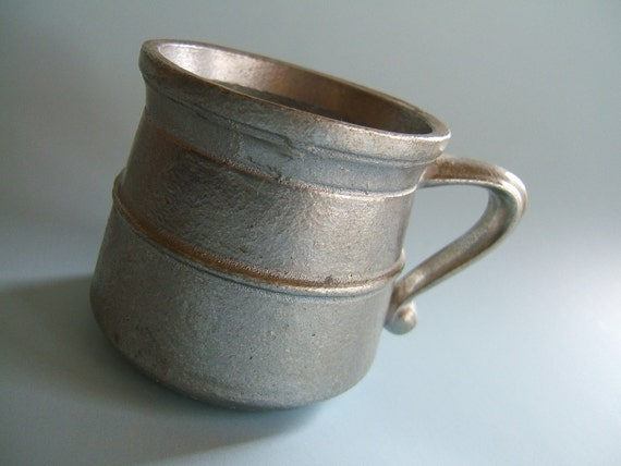 Vintage Dura Cast Handcrafted Pewter Cup 1973