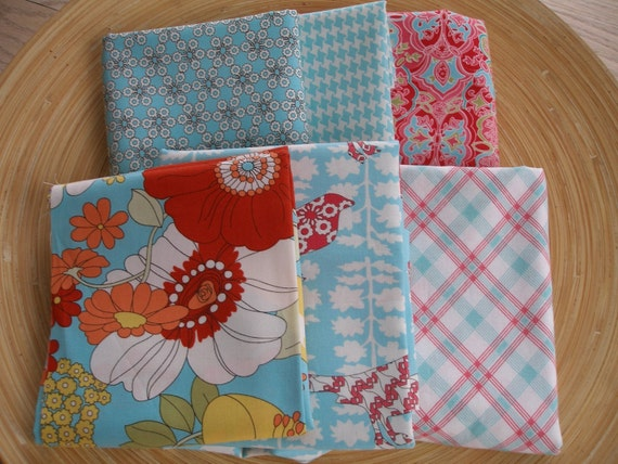 ON SALE. Summer In The City ------- Destash Fabric Pack