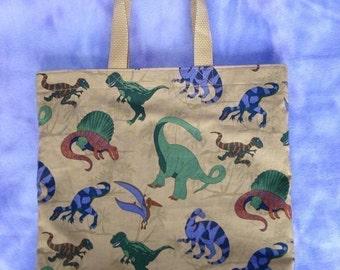 Dinosaurs Reversible Kids Tote