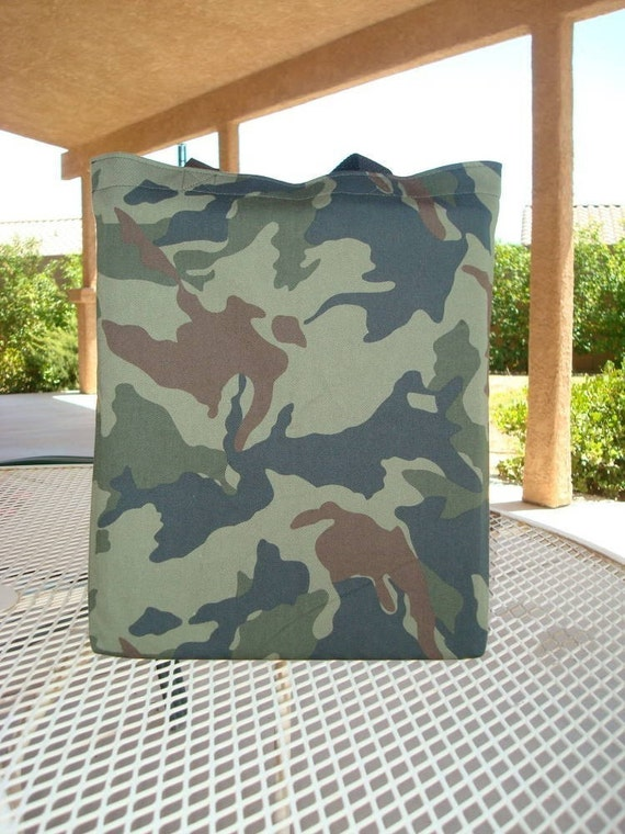Cool Camouflage Boys Reversible Tote Bag