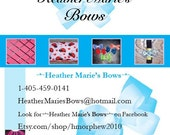 Business Cards for Bows (and more)
