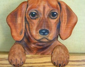 CUSTOM PET PORTRAITS  - Hand Carved out of wood - Hand Painted by Will Kay Studios on Etsy