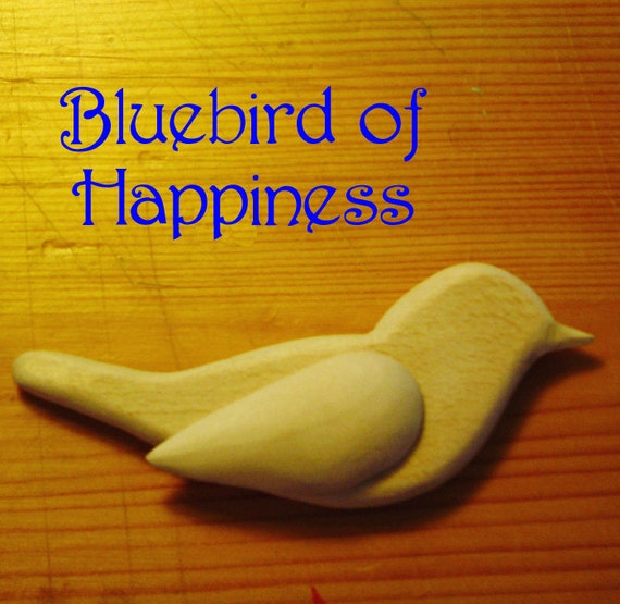 Bluebird of Happiness - Bluebird with Wings - DIY - Do It Your Way - Songbird Ornaments - Weddings - Mobiles