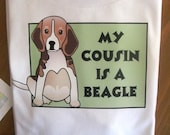 Beagle Cousin Bodysuit or Tee