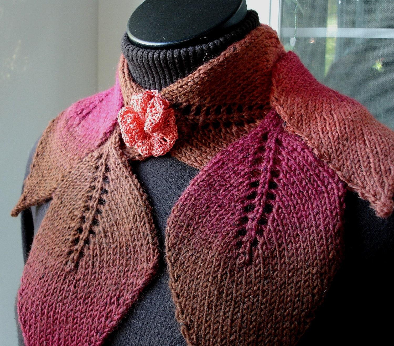 Pdf for suzanne sullivan knit leaf scarf pattern zoom bankloansurffo Gallery