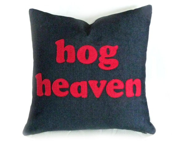Man Cave Pillows : Man cave word pillow appliqued text humorous funny