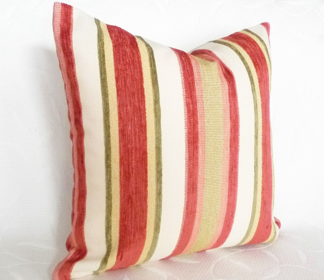 Decorative Pillows With Stripes : Unavailable Listing on Etsy