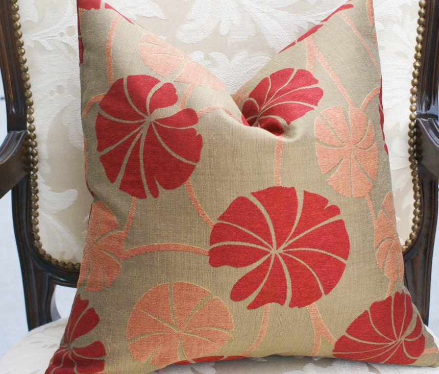 Contemporary Throw Pillows For Couch: Contemporary Throw Pillows Colorful Burnt By PillowThrowDecor