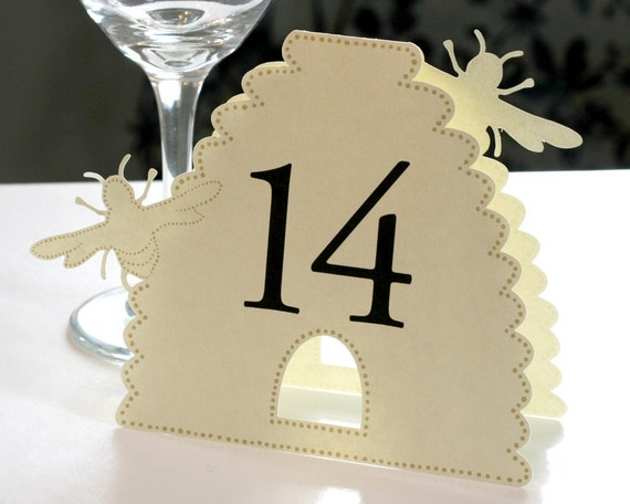 Beehive Table Numbers
