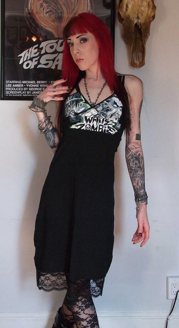 White Zombie Girls Sash Dress Horror Bela Lugosi