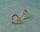 Little Lovely Heart Post Earrings