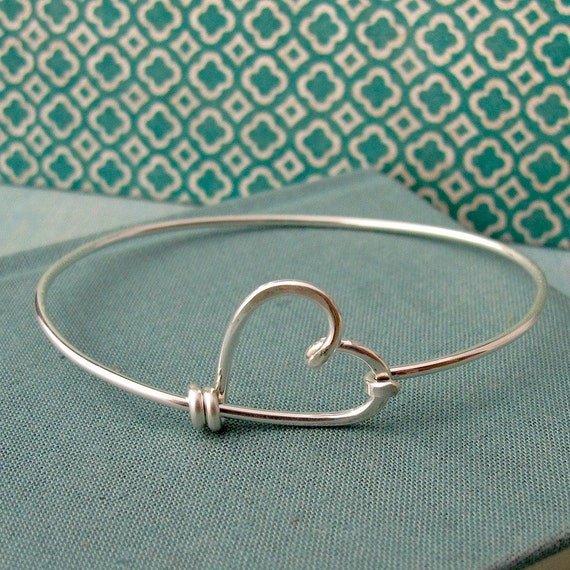 Items similar to You have my heart bracelet-Sterling ...