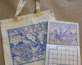 2011 Paquita Calendar and Year of the Rabbit Tote Bag