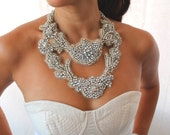 The Masterpiece - Swarovski Crystal Statement Bib Necklace
