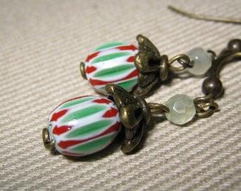 Garden bead earring