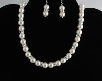 Pearl Necklace Set. Listing  40169698