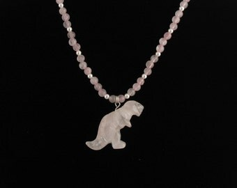 Dinosaur Necklace. Listing 40718300