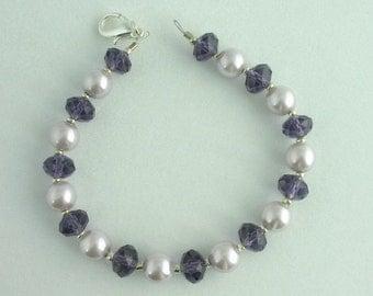 Glass Pearl Bracelet. Listing 46519522