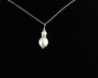 Freshwater Pearl Pendant Set. Listing  53156125