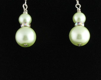 Pearl Earrings. Listing  55291349