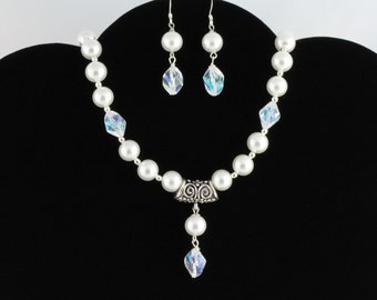 Pearl Necklace Set. Listing 56609149