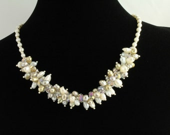 Freshwater Pearl Necklace Set. Listing  58963339