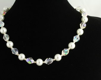 Glass Pearl Necklace. Listing  9085145