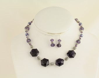 Glass Necklace Set. Listing 85144165