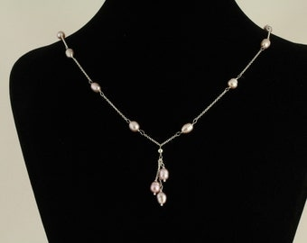 Freshwater Pearl Necklace Set. Listing 86153182
