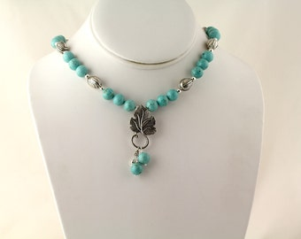 Magnesite Necklace. Listing  98410829