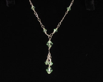 Crystal Bridesmaid Necklace. Listing 19856930